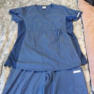 Maternity Scrub, top and bottom set